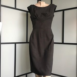 Fitted and Detailed Pencil Skirt Dress